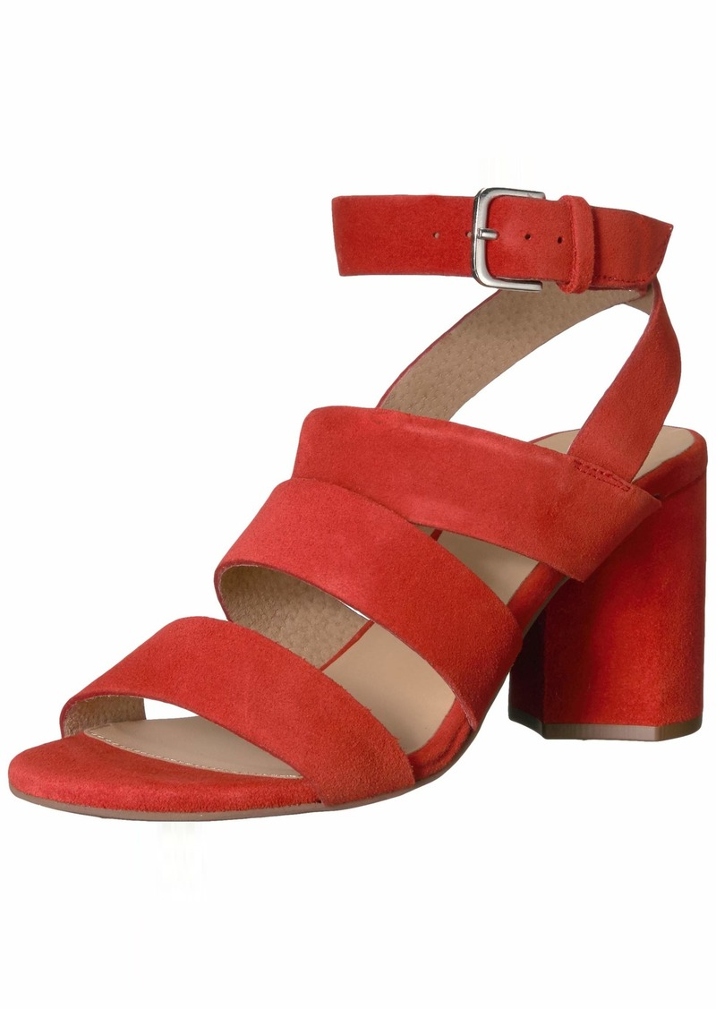 Seychelles Women's Antiques Heeled Sandal red  M US