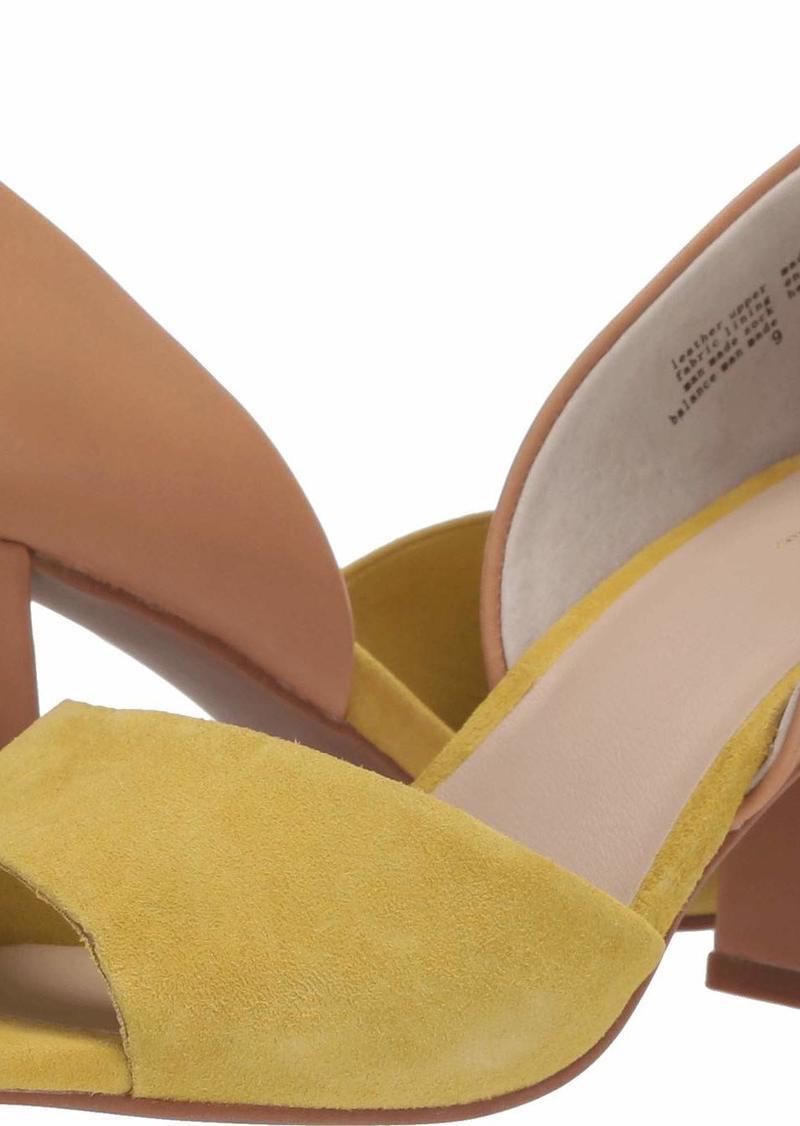 Seychelles Women's Shabby Chic Heeled Sandal Yellow/tan  M US