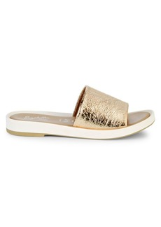 Seychelles So Zen Metallic Leather Slides