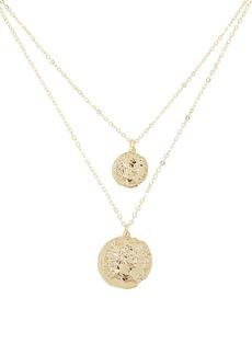 Shashi Double Maverick Pendant Necklace