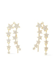 Shashi Woman 18-karat Gold Vermeil Crystal Earrings Gold