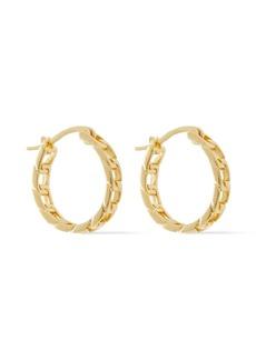 Shashi Woman 18-karat Gold Vermeil Hoop Earrings Gold