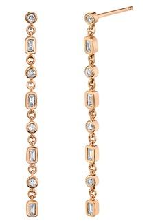 Women's Shay Infinity Diamond Drop Earrings