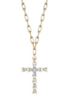 Women's Shay Mini Diamond Cross Necklace