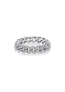 Women's Shay Pave Diamond Mini Link Ring