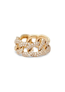 Women's Shay Pave Link Ring