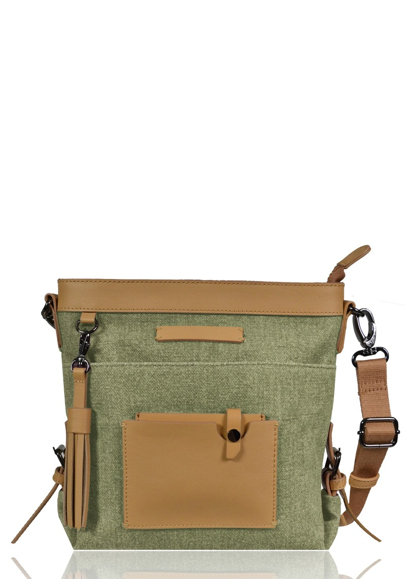 5d00f53ea72ef Sherpa Sherpani Luna Waxed Cotton Canvas Crossbody Bag | Handbags