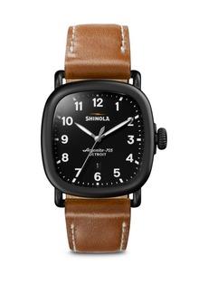 Shinola Guardian Black Watch
