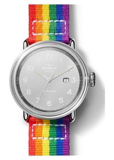 Shinola Detrola Pride Watch Gift Set, 43mm