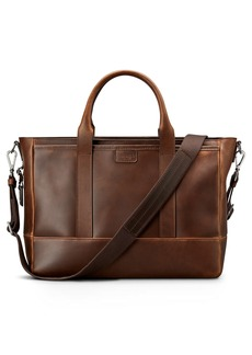 Shinola Navigator Leather Briefcase