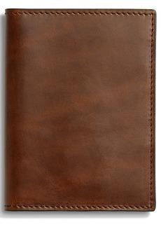 Shinola Navigator Passport Wallet