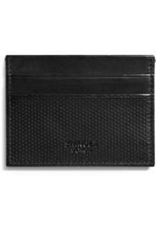 Shinola Perforated Leather Card Case