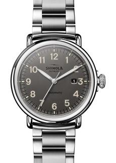 Shinola Runwell Automatic Bracelet Watch, 45mm