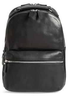 Shinola Runwell Leather Laptop Backpack
