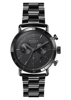 Shinola The Canfield Sport Chronograph Bracelet Watch, 40mm