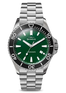Shinola The Monster Automatic Bracelet Watch, 43mm