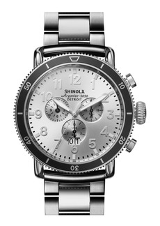 Shinola The Runwell Sport Chronograph Bracelet Watch, 48mm