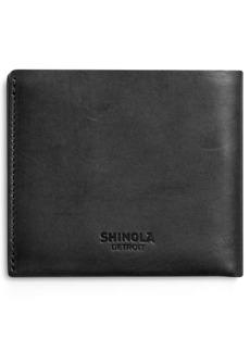 Shinola Utility Leather Bifold Wallet