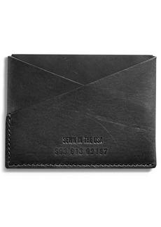Shinola Utility Leather Card Case
