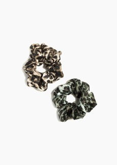 Shiraleah Assorted Set Of 2 Leopard Scrunchies