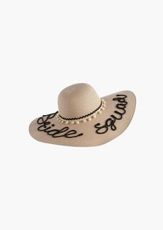 Shiraleah Bride Squad Sun Hat