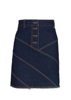Shona Joy Emmerson Denim Mini Skirt