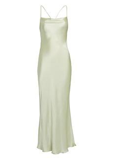 Shona Joy Giselle Cowl Back Slip Dress