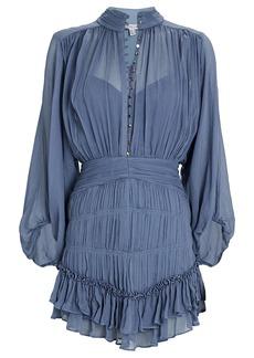 Shona Joy Kayla Chiffon Mini Dress