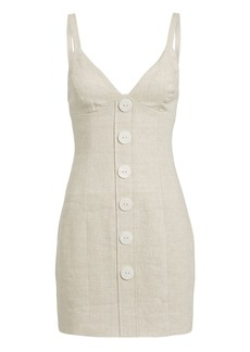 Shona Joy Savannah Linen Mini Dress