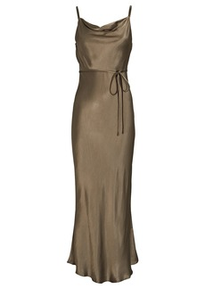 Shona Joy Sophia Bias Cowl Maxi Dress