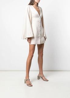 Shona Joy Wren circle sleeve mini dress
