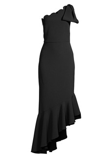 Shoshanna Ainsa Bow Dress