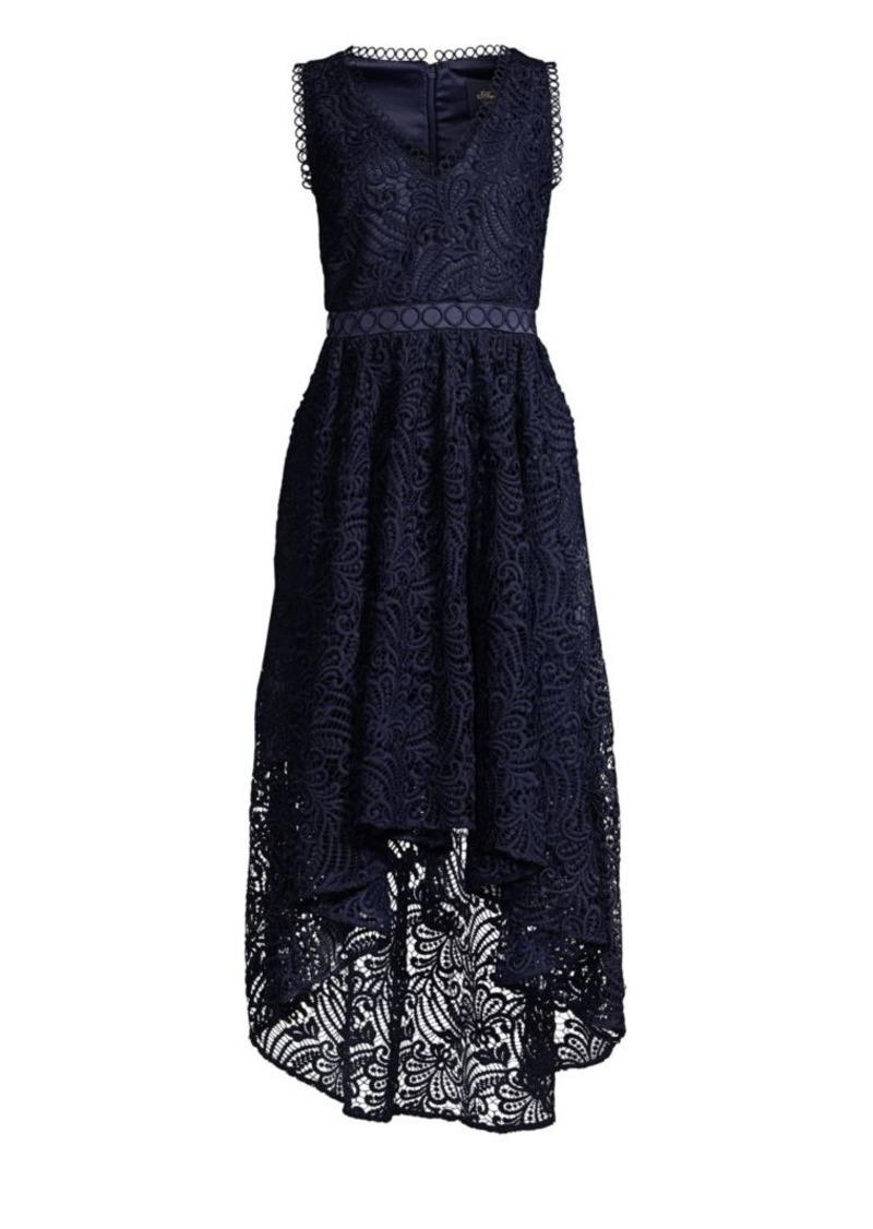 Shoshanna Allona High-Low Lace Dress
