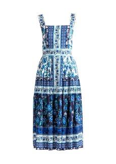 Shoshanna Almma Printed Dress