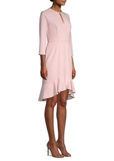 Shoshanna Arnett Ruffled Blouse Dress
