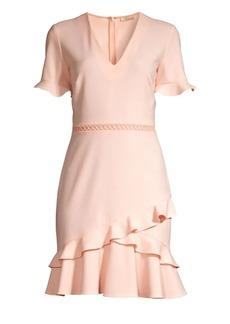 Shoshanna Belleme Ruffle Dress
