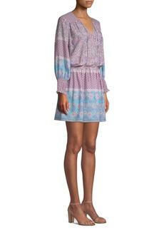Shoshanna Boho Floral-Print Torrance Dress