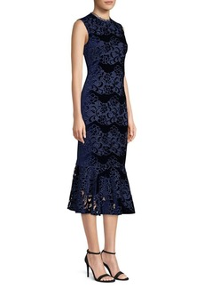 Shoshanna Bolton Lace Midi Dress