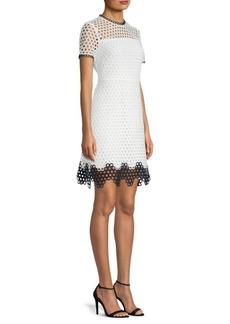 Carter Mesh Sheath Dress