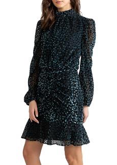 Shoshanna Cassia Puff-Sleeve Dress