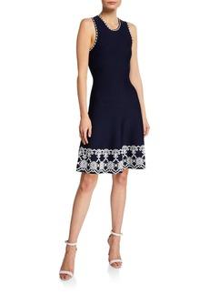 Shoshanna Caterina Sleeveless A-Line Dress