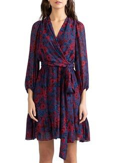 Shoshanna Catherine Printed Wrap Dress