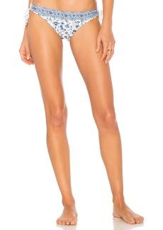Chambray Paisley Bikini Bottom