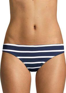 Shoshanna Classic Stripe Bikini Bottoms