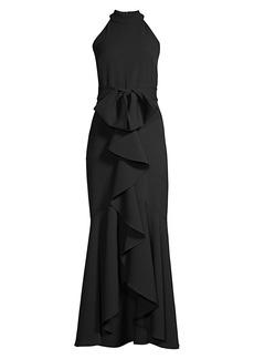 Shoshanna Damita Ruffle Gown