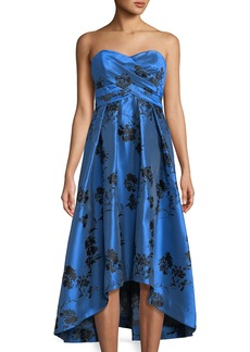 Shoshanna Dawn Strapless Cocktail Dress