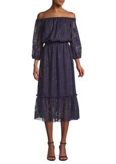 Shoshanna Dhara Jacquard Popover Dress