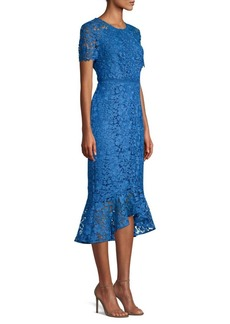 Shoshanna Edgecombe Lace Hi-Lo Dress