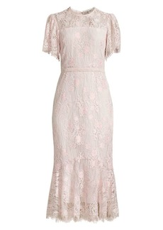 Shoshanna Ellery Lace Dress