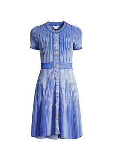 Shoshanna Estefania Melange Knit Dress